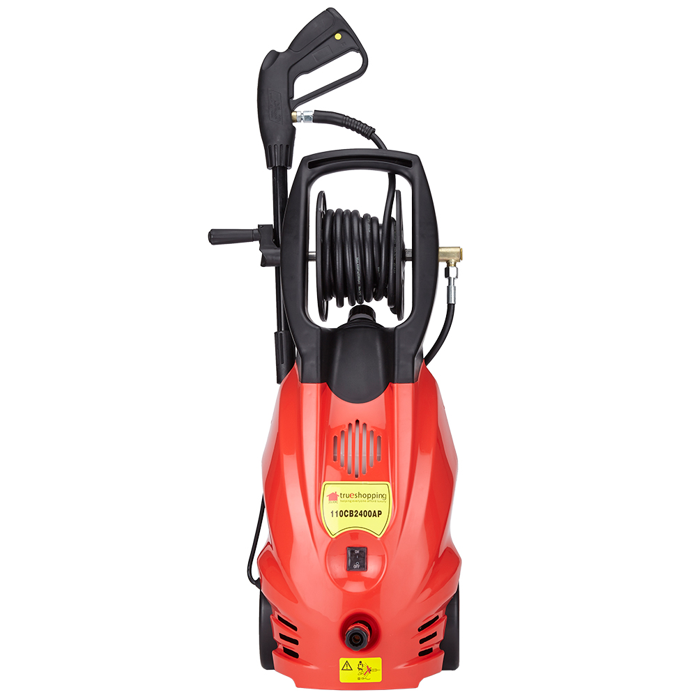 Pressure washer power jet wash cleaner 2400w motor 165 bar for Pressure washer pump electric motor
