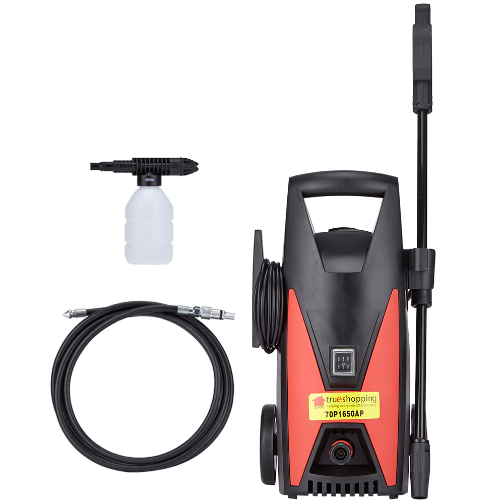 Trueshopping pressure washer jet power wash cleaner 1650w for Pressure washer pump electric motor