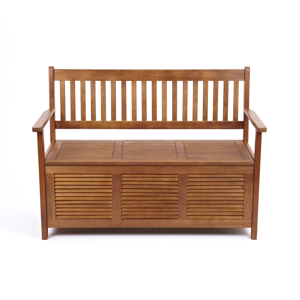 Benches With Storage Seating: Trueshopping Hallway Kitchen Garden Two Seat Bench With